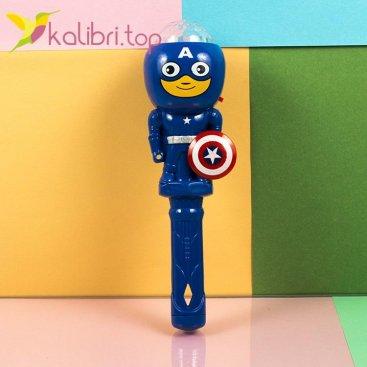 Светящийся микрофон Капитан Америка оптом фотография 1