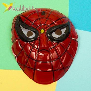 Детская маска Человек-Паук оптом фото 1