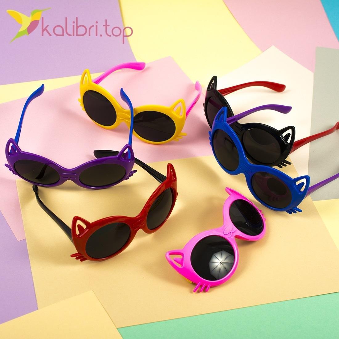Детские солнцезащитные очки Котики - Kalibri