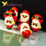 Игрушка сквиш Дед Мороз оптом фото 14