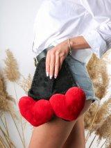 Женские домашние тапочки с сердечками цвета Кардинал, Family Story - 2