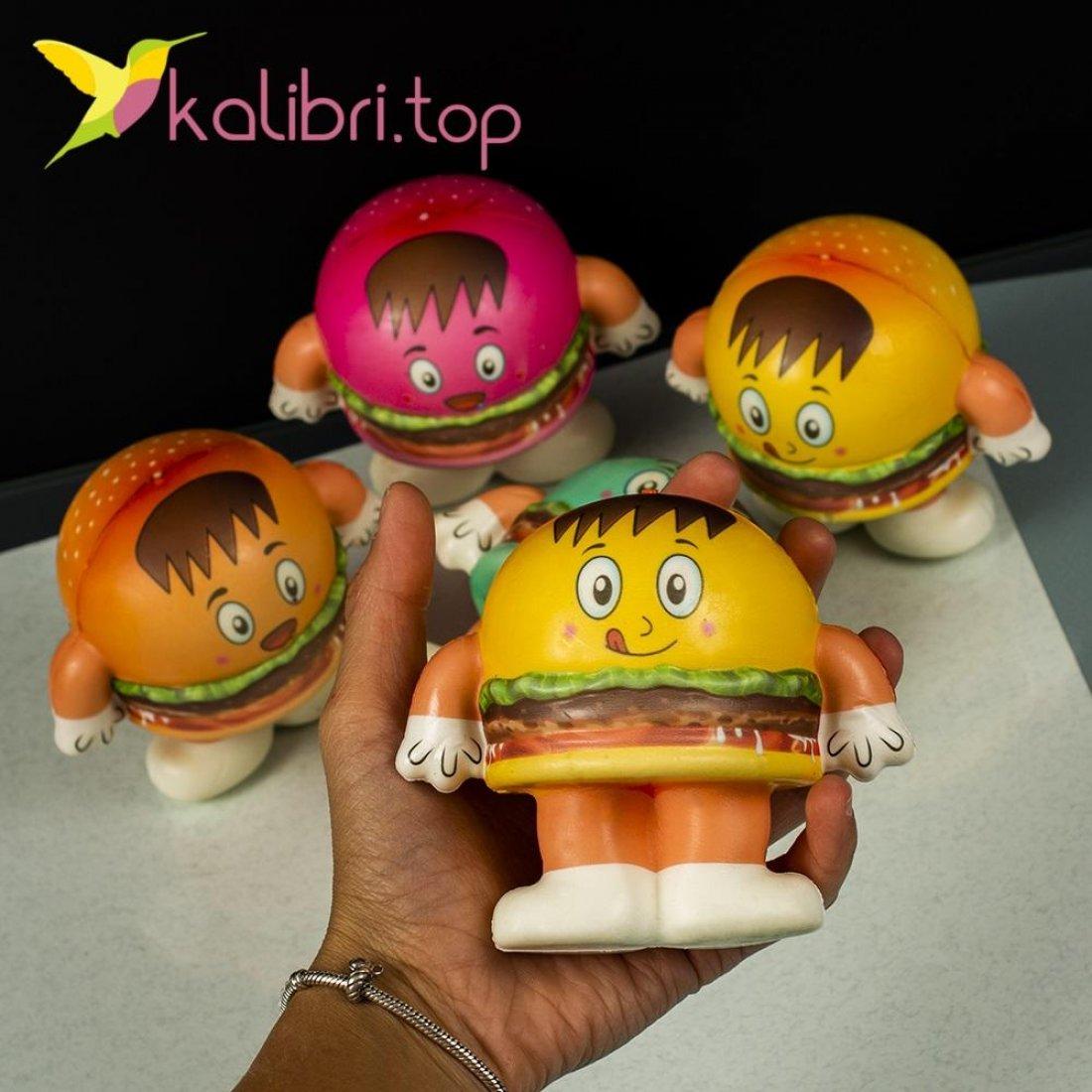 Сквиш гамбургер оптом фото 16