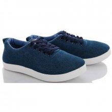 Купить синие женские-подростковые слипоны, подростковая обувь оптом