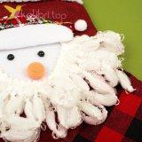 Носок для подарков большой с Снеговиком микс, оптом фото 2