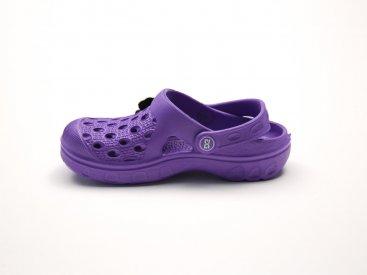 Фиолетовые кроксы оптом C20-34, 4rest, детская обувь оптом, фото 1