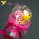 Светодиодная палка LED Розы малиновый оптом фото 1