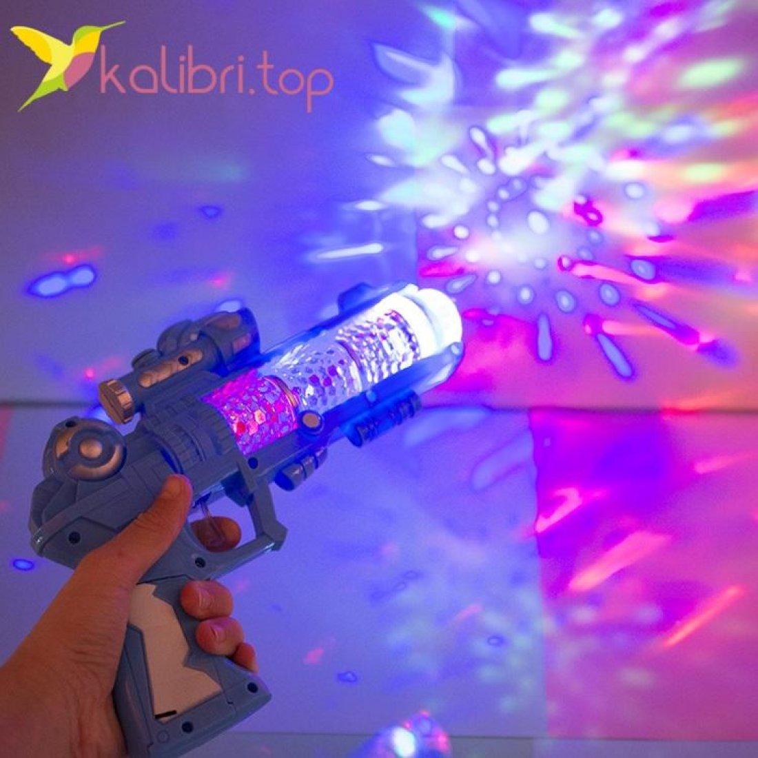 Детский светящийся пистолет Воин оптом фото 2