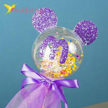 Светодиодная палка LED Микки фиолетовый оптом фото 1