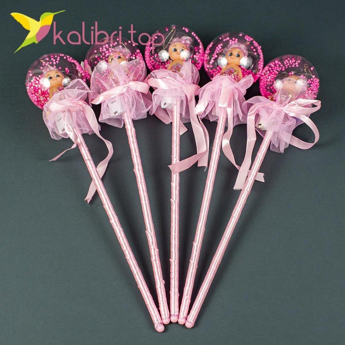 Светодиодные палочки куколки розовый оптом фото 3258