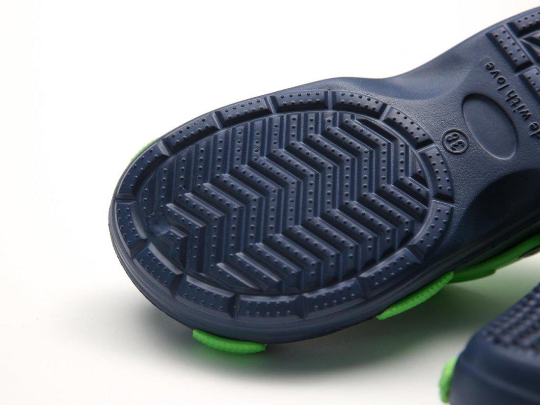 Синие кроксы оптом C24-40, 4rest, женская обувь оптом, фото 3