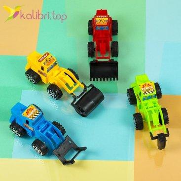 Машинки инерционные Тракторы оптом фото 1