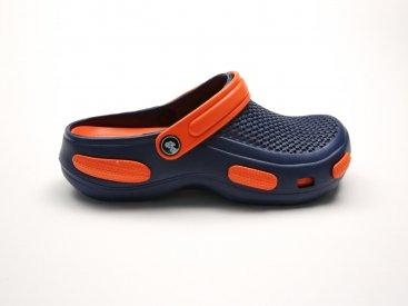 Синие кроксы оптом C27-45, 4rest, мужская обувь оптом, фото 1