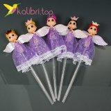 Светящиеся LED палочки девочки принцессы фиолетовые оптом фото 102