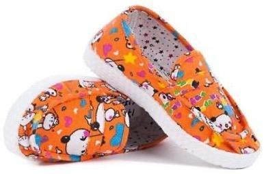 Детские слипоны оптом 17 И D оранжевые, 4rest, обувь оптом - фото 1