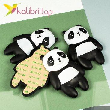 Игрушки сквиши на липучке панды 95