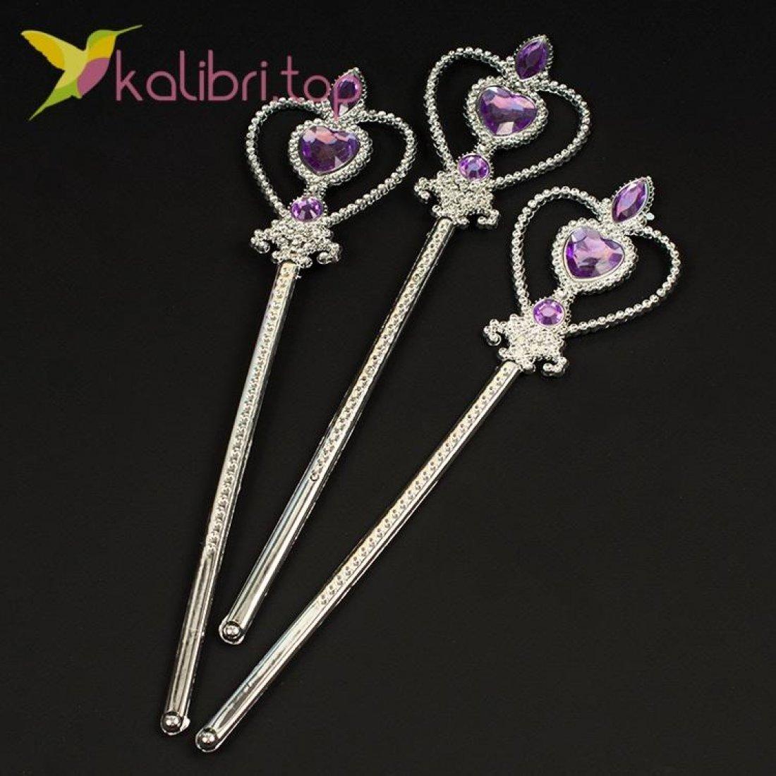 Волшебная палочка Сердечко фиолетовый, оптом фото 1