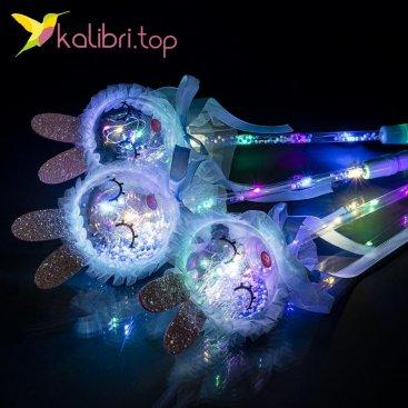 Светящиеся палочки зайцы голубой оптом фото 21