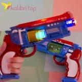 Детский, светящийся пистолет Блок оптом фото 1