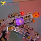 Светящийся, игрушечный пистолет оптом фото 3
