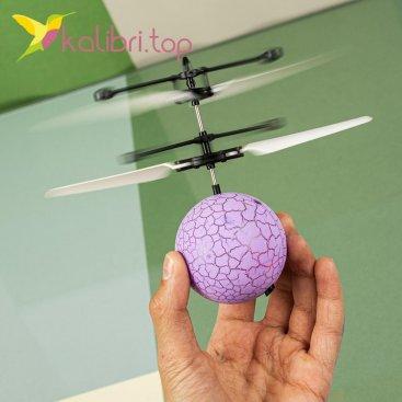 Летающий, светящийся шар Flying Ball светло фиолетовый оптом фото 66