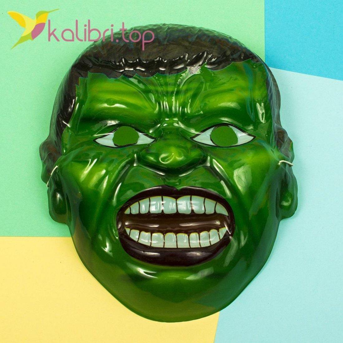 Детская маска Халка оптом фото 1