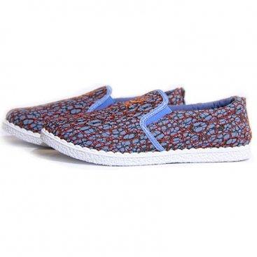 купить женские мокасины из текстиля, женская обувь оптом
