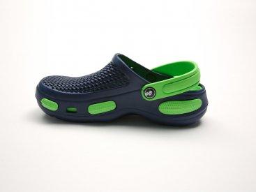 Синие кроксы оптом C24-40, 4rest, женская обувь оптом, фото 1