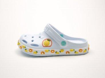Белые кроксы оптом C06-34, 4rest, детская обувь оптом, фото 1
