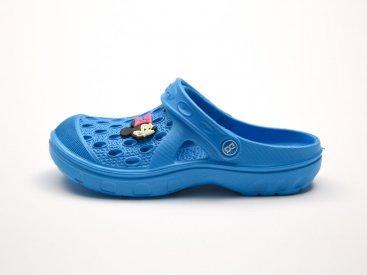 Голубые кроксы оптом C13-34, 4rest, детская обувь оптом, фото 1