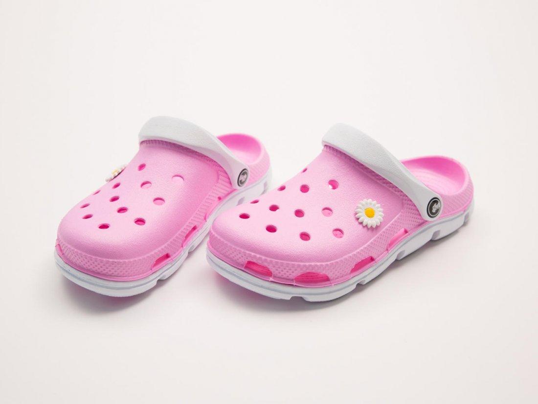 Розовые кроксы оптом C01, 4rest, женская обувь оптом, фото 2