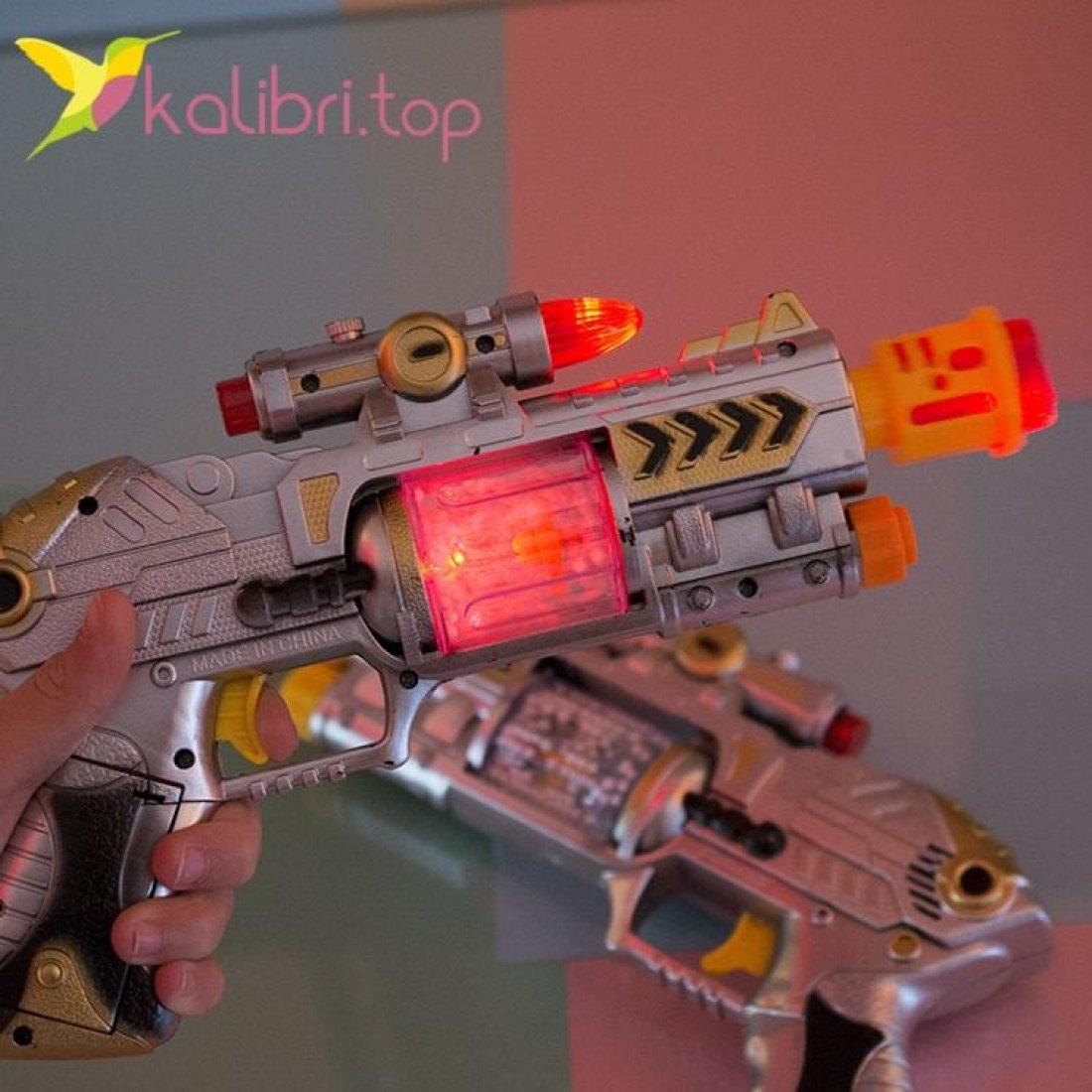 Светящийся, игрушечный пистолет оптом фото 2