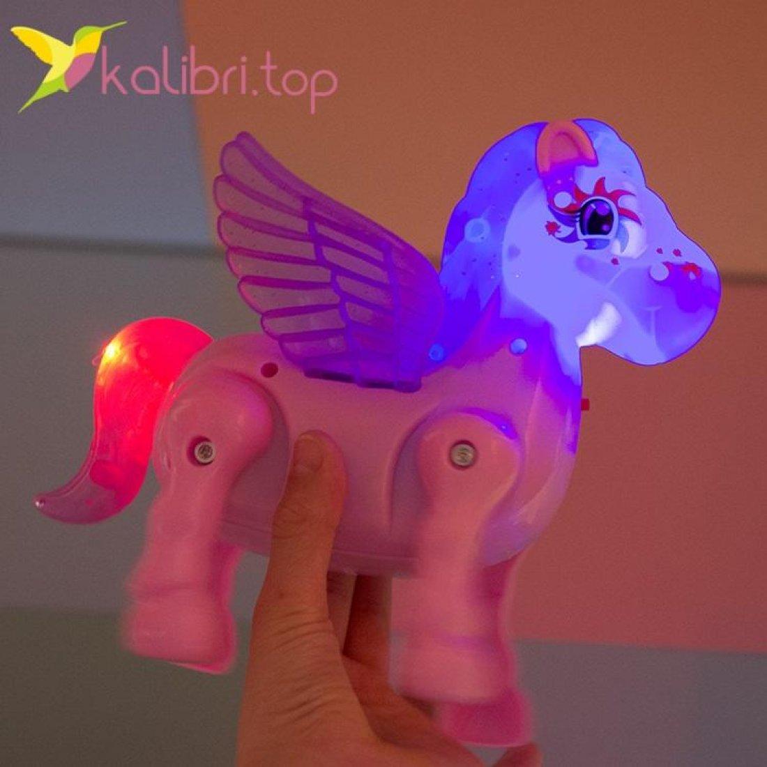 Интерактивная игрушка ходилка Пони фото 3