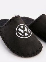 Мужские домашние тапочки Volkswagen черные закрытые, Family Story - 5