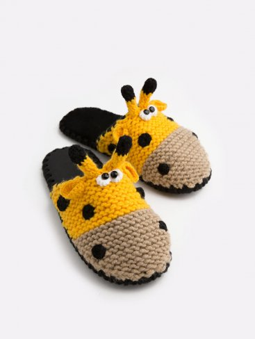 Домашние тапочки с мордочкой Жирафа, Family Story - 1