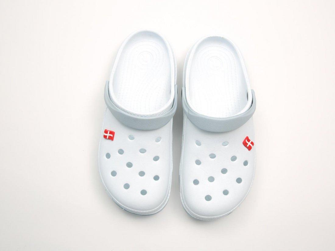 Белые кроксы оптом C03-45, 4rest, мужская обувь оптом, фото 2