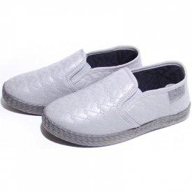 Детские слипоны оптом 11-103 С серые, 4rest, обувь оптом