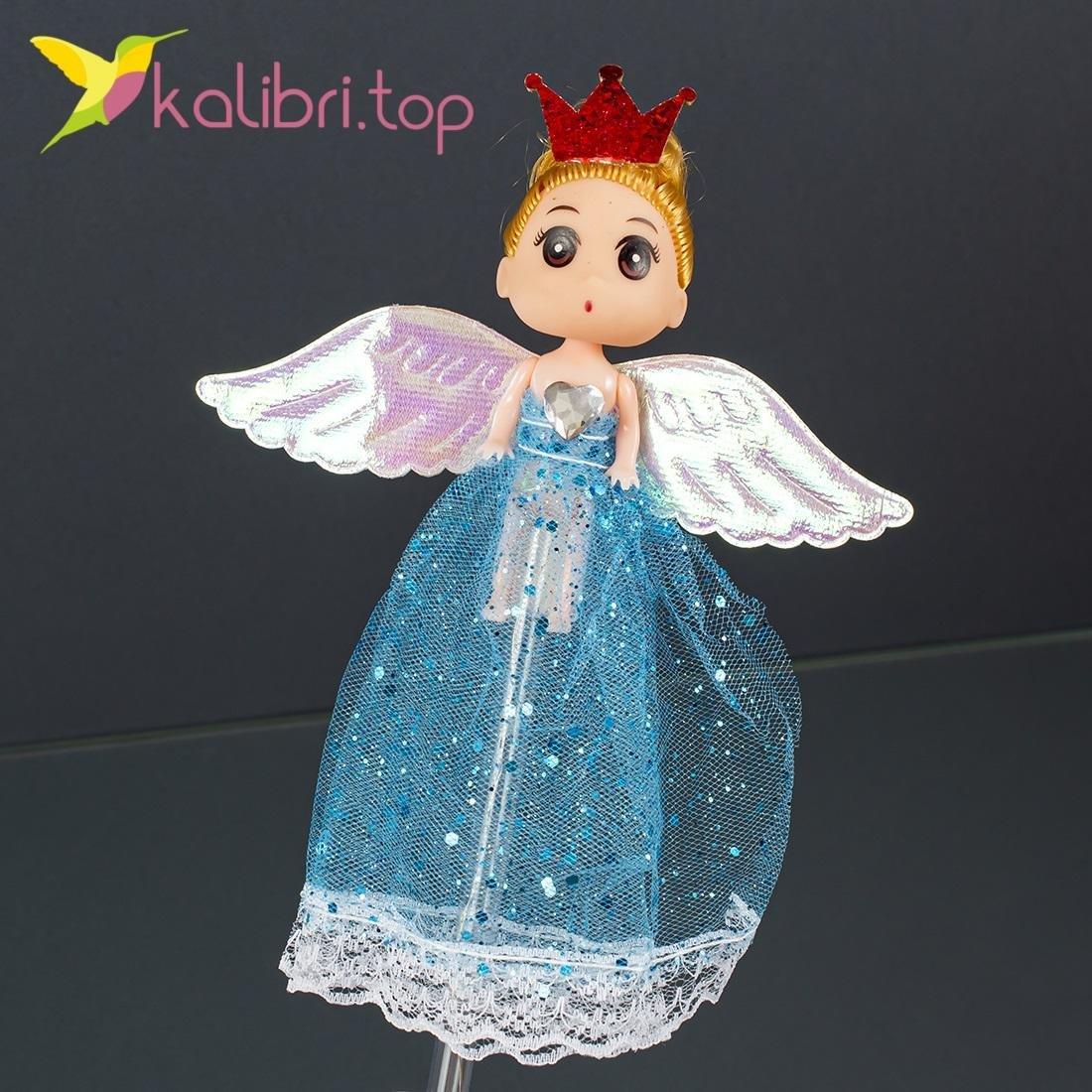 Светящиеся LED палочки девочки принцессы голубые оптом фото 104