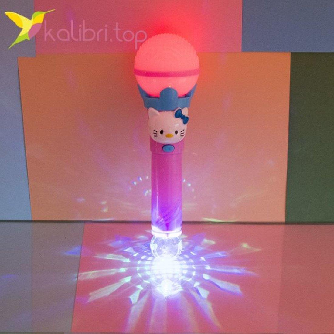 Светящийся микрофон Hello Kitty фото 4