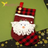 Носок для подарков большой с Снеговиком, оптом фото 1