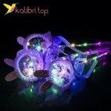Светящиеся палочки зайцы фиолетовый оптом фото 199