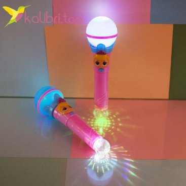 Игрушечный, светящийся микрофон L.O.L оптом фото 2