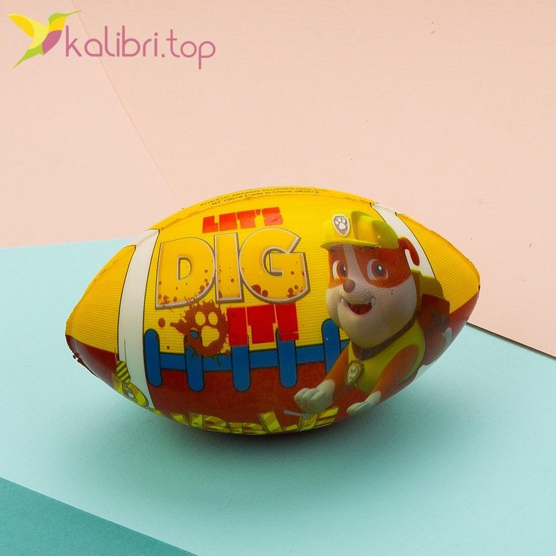 Детская игрушка поролоновый мини мяч для регби оптом, фото 2