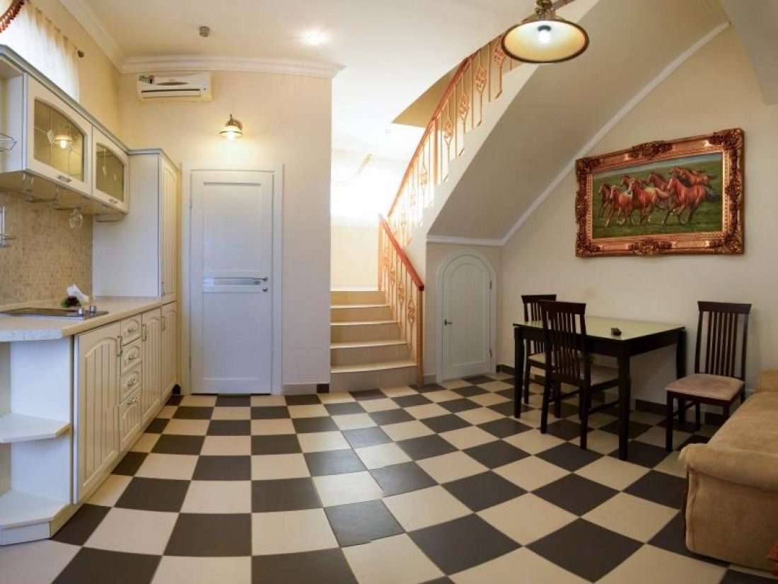 Отель Коляда, Номер Апартаменты с видом на море - фото 4
