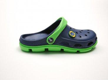 Синие кроксы оптом C28-45, 4rest, мужская обувь оптом, фото 1