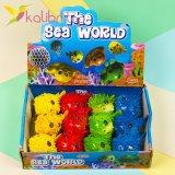 Детская игрушка антистресс Рыба Еж упаковка - фото 3