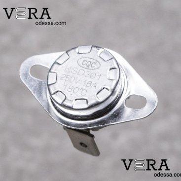 Купить термореле KSD-301 180° 16 А оптом, фотография 1
