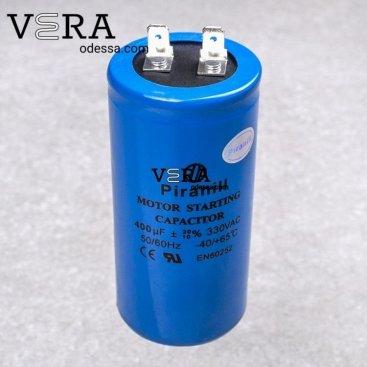 Купить конденсатор пусковой 400 МКФ /330 V оптом, фотография 1
