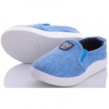 Купить голубые детские слипоны оптом 12-29A
