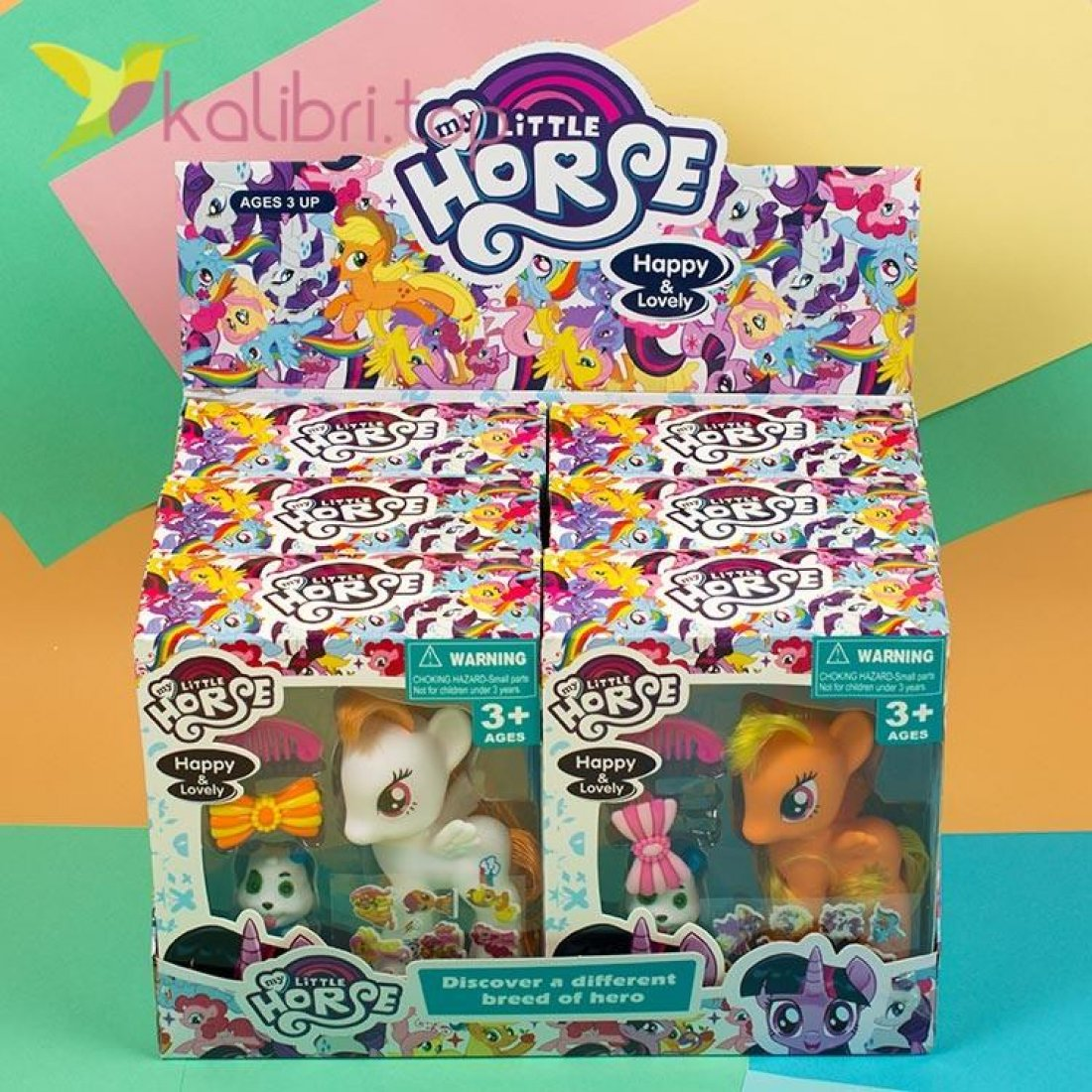 Детская игрушка My Little Pony с наклейками, оптом фото 2