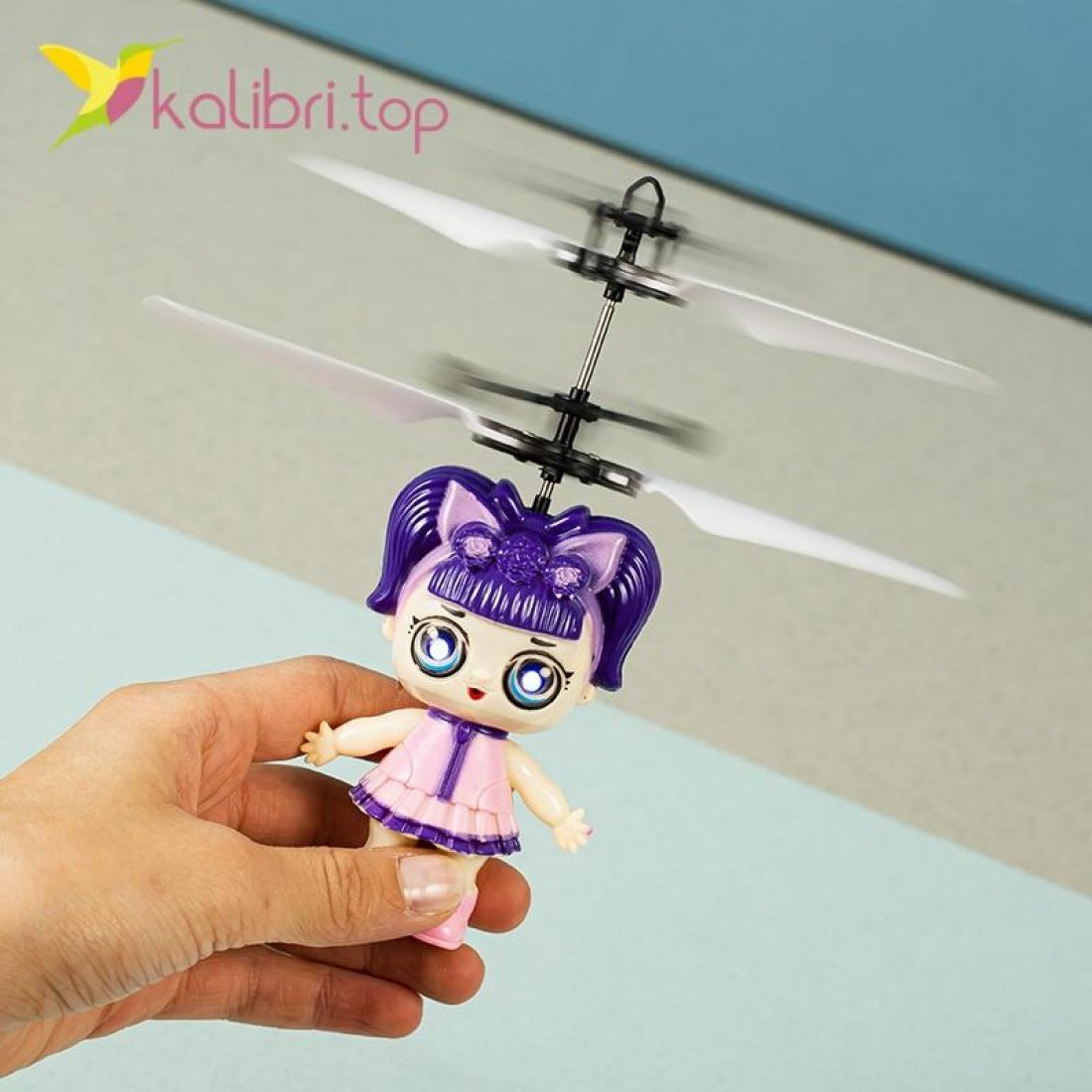 Летающая игрушка от руки Девочка оптом 11